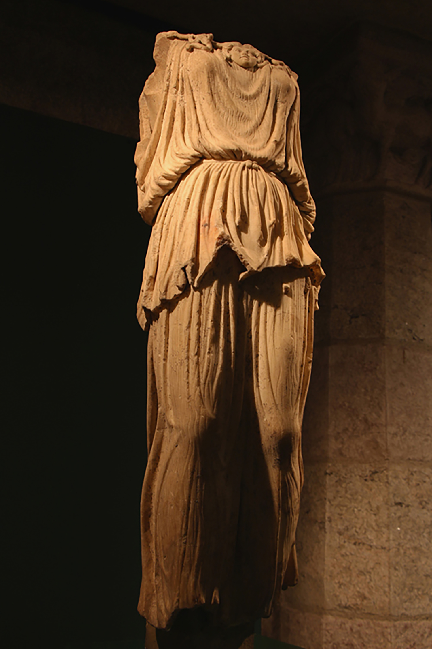 Figure 1: Full View of Statue.