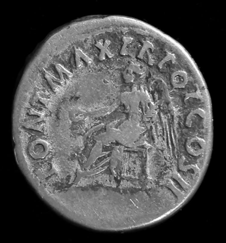 Figure 7: Denarius of Trajan with Seated Victoria.