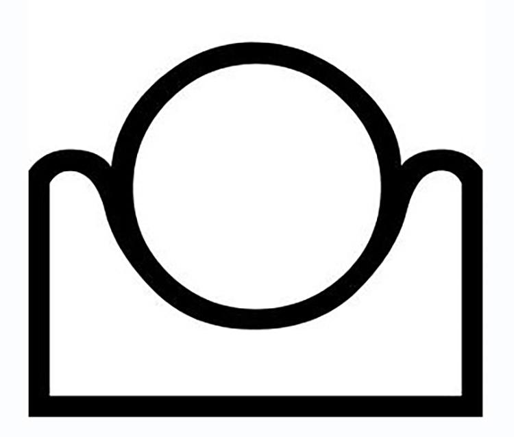 "Figure 10: The Egyptian hieroglyph for ""horizon."""