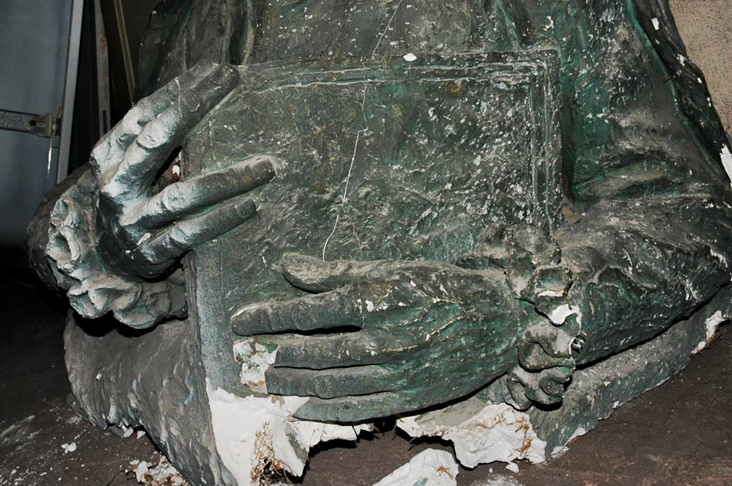 """Figure 4: """"The whole plaster was a kind of ruin"""" (Magnus Persson)."""