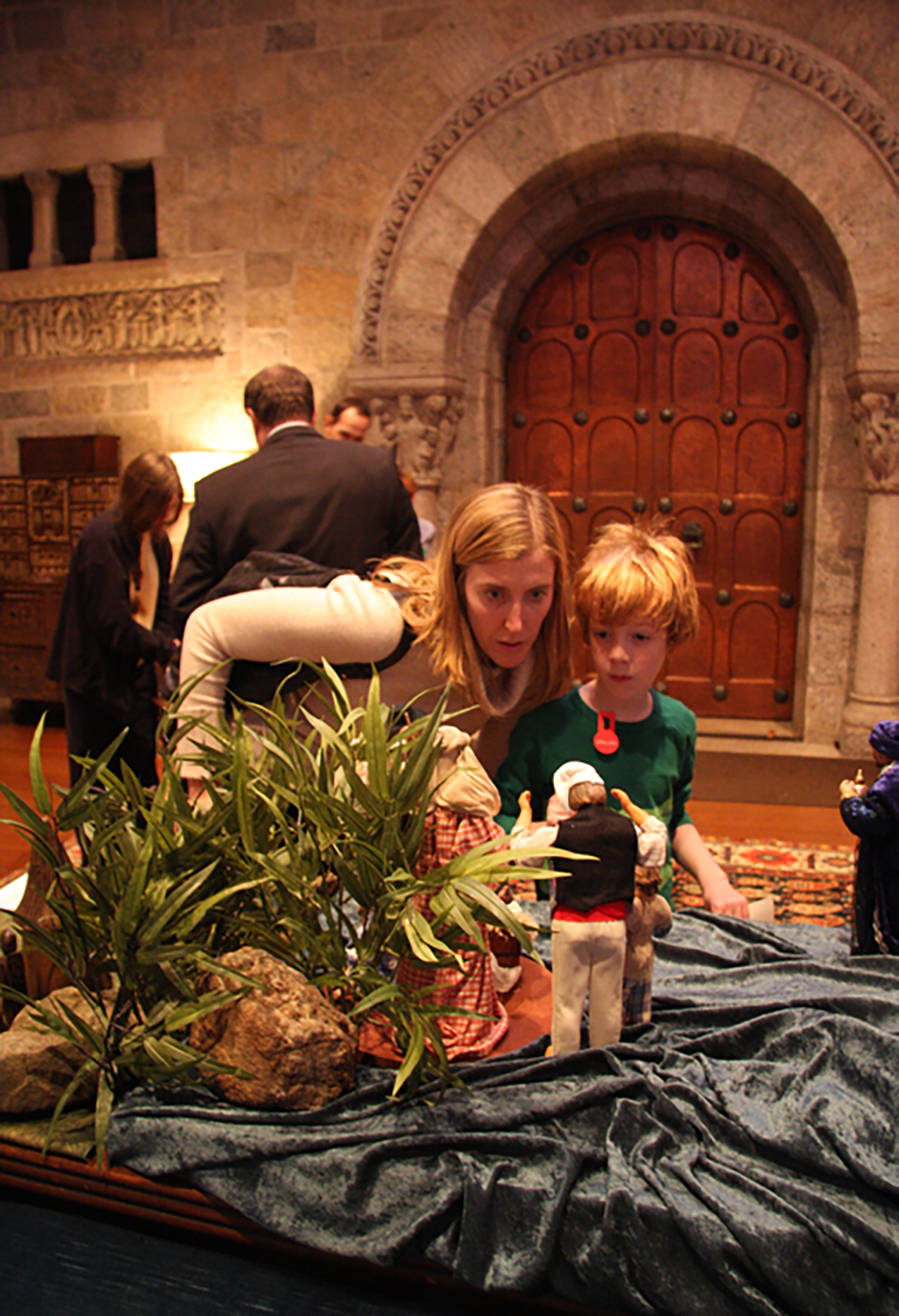 """Figure 6: Visitors to """"Glad Tidings: A Celebration of Christmas,"""" 2011."""