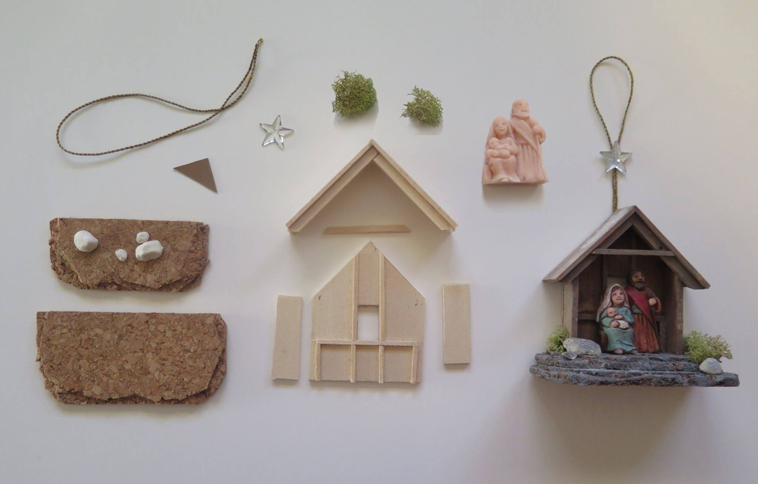 """Figure 19: R. Michael Palan and Karen Loccisano recently conducted a workshop in Glencairn's Medieval Gallery: """"The Art of Making Nativities."""" Photo by R. Michael Palan."""