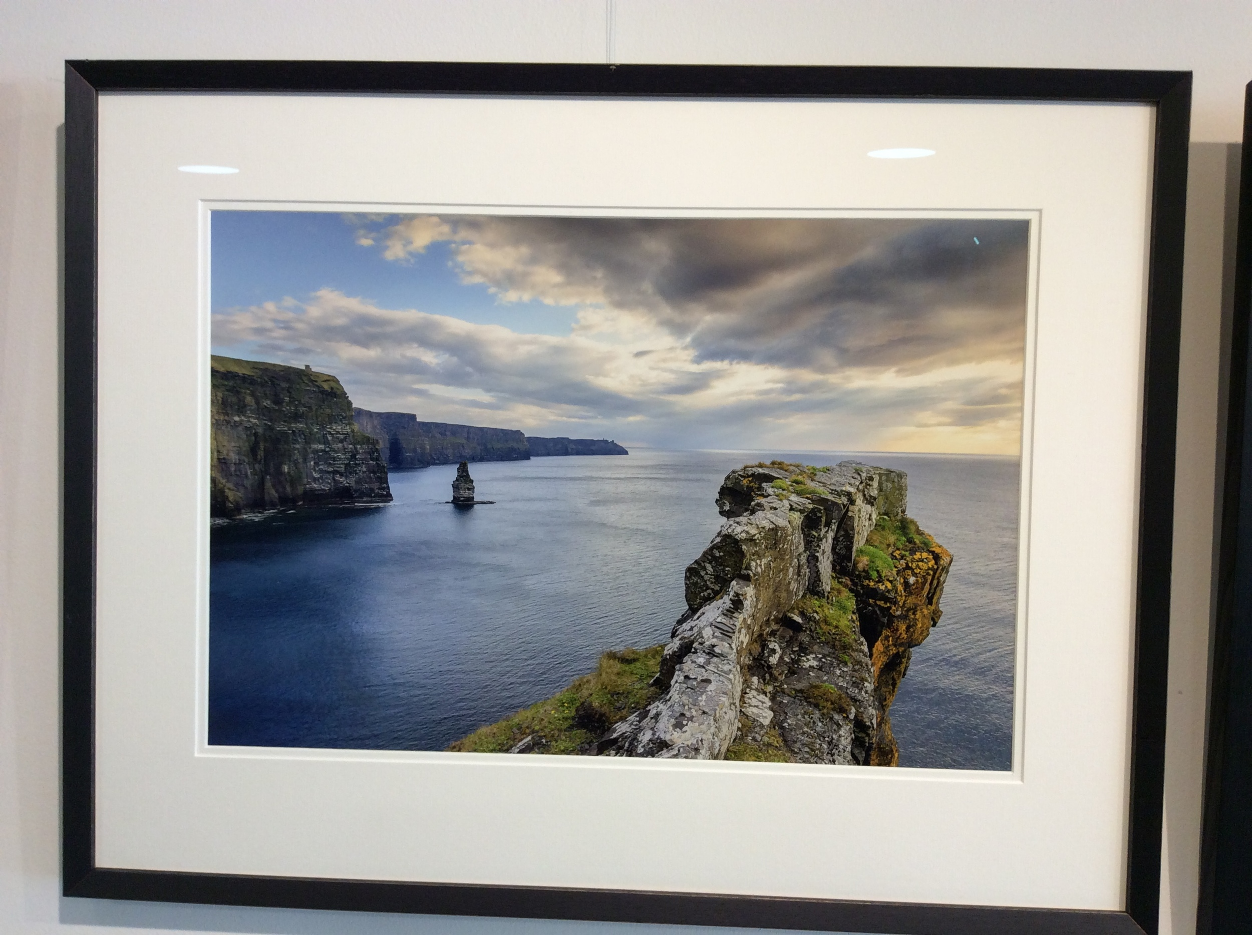 This photograph of the Cliffs Of Moher has an incredible 3d effect when viewed in real life.