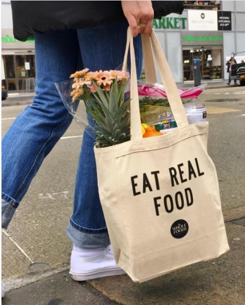 Whole Foods Market Bryant Park Canvas Bag Rachel Landers
