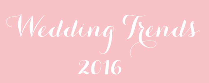 Venue Logic Wedding Trends 2016 - Maxe Designs, LLC