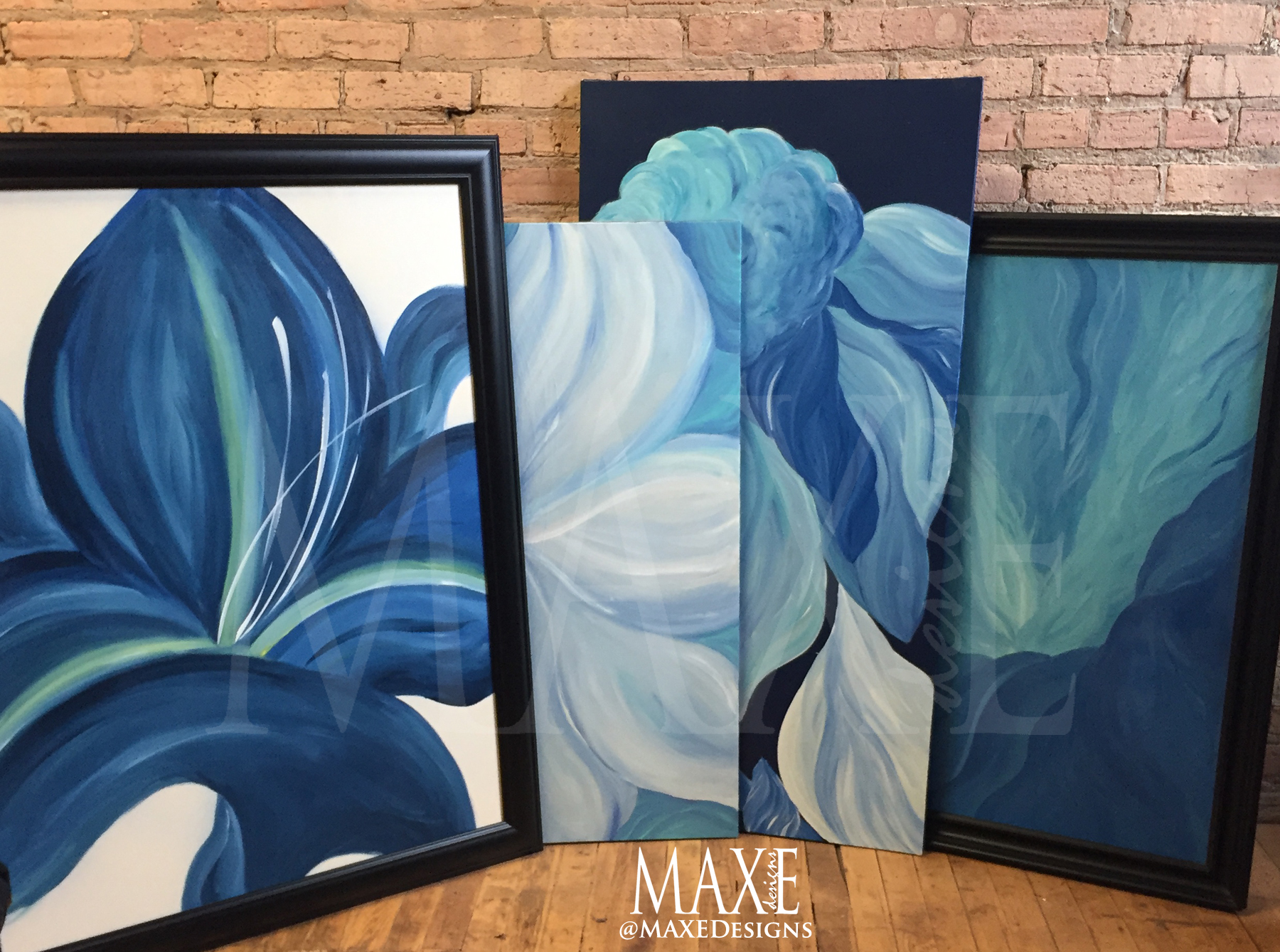 I love Blue Collection My Artist Shop MAXE Designs 2018 copy.jpg