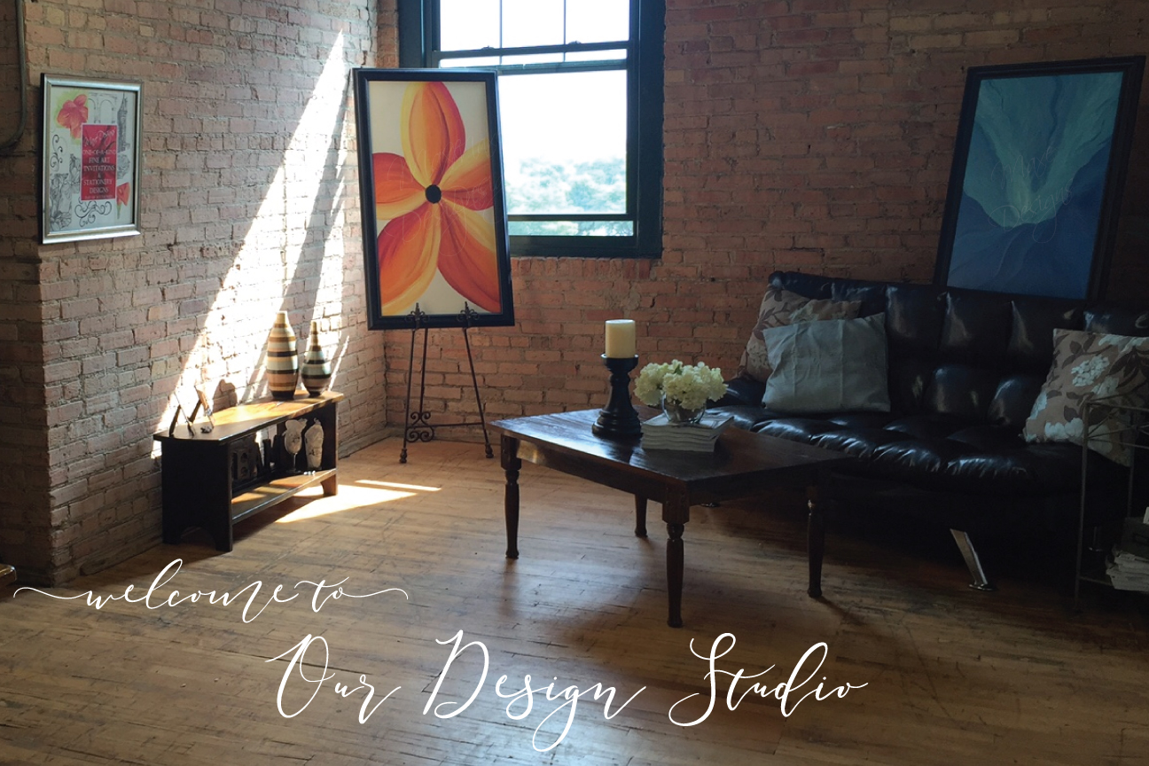 Our Fine Art & Design Studios - are located in both Chicago, Illinois & in Grand Rapids, Michigan.
