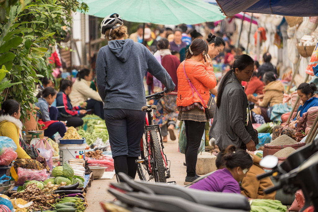 Cycle to local markets