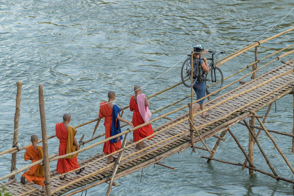 Crossing Rivers by bike
