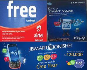 Tigo Smartphone Campaign in Accra