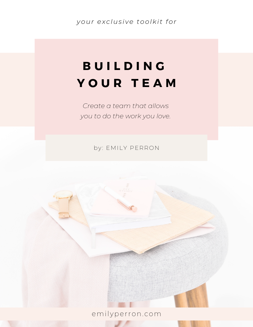 Exclusive Toolkit for Building Your Team