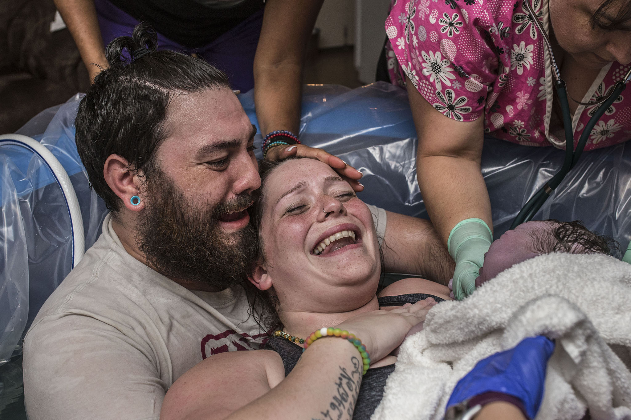 the emotions of welcoming your baby into the world