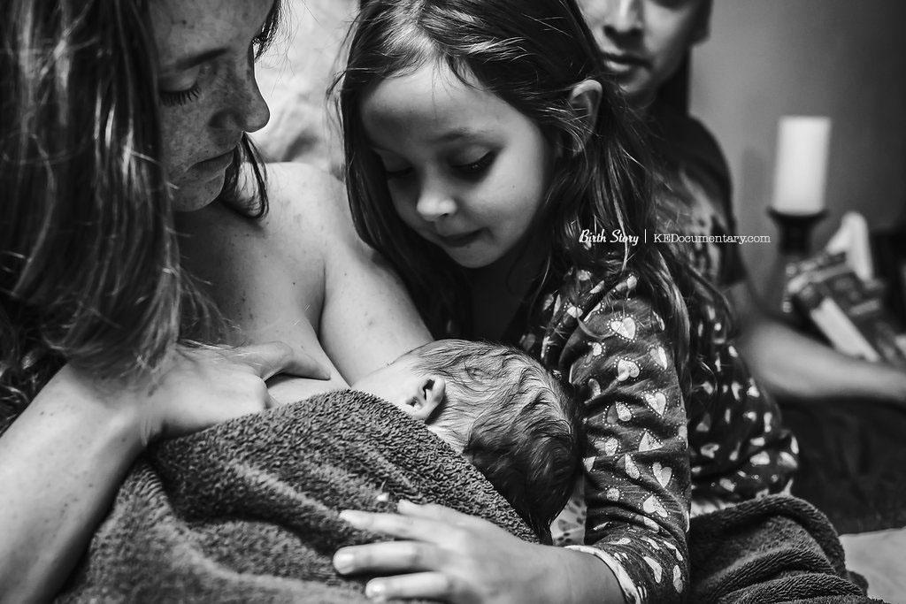 Hello Baby - Dallas Birth Photographer