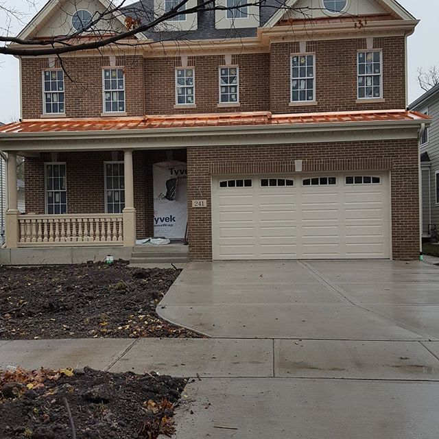 141 Illinois. The exterior of the home is nearly complete! Gonna add shutters next week!