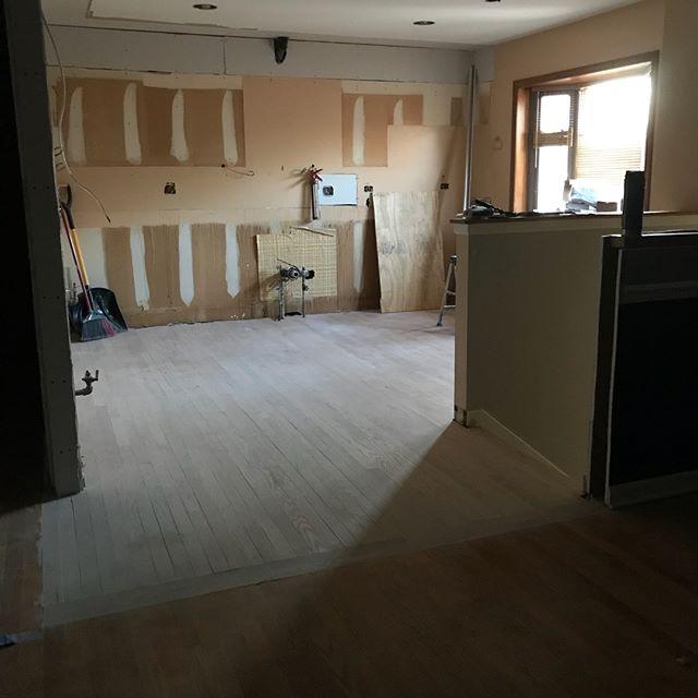 New Kitchen transformation underway!