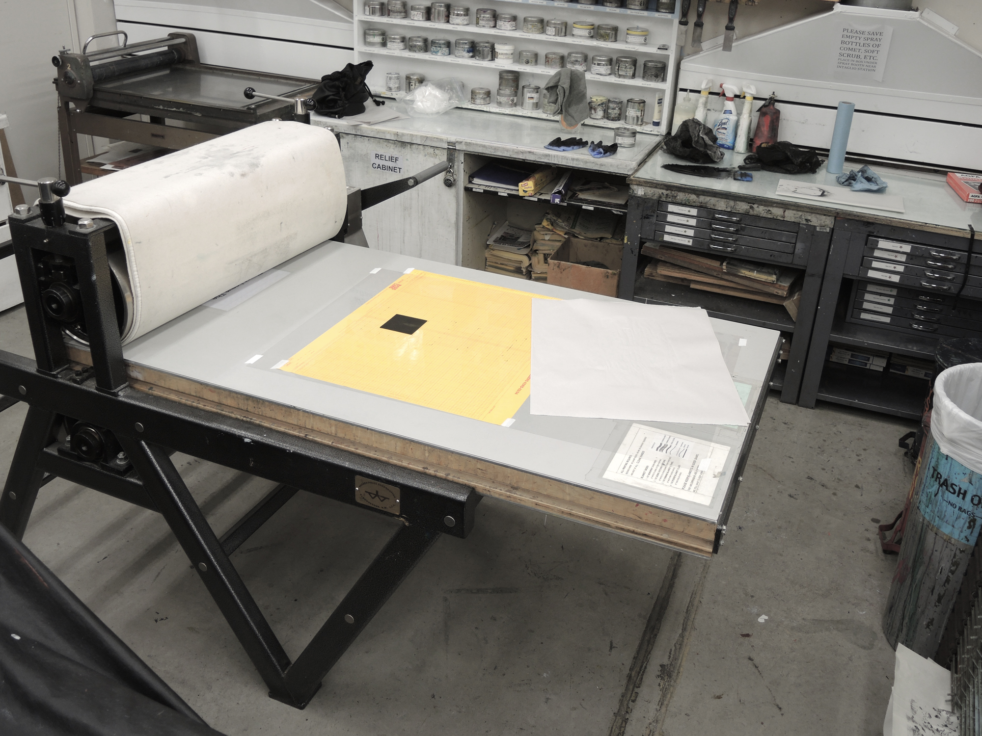 takach press - mcad printmaking studio