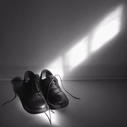 my basement . my shoes . my dust