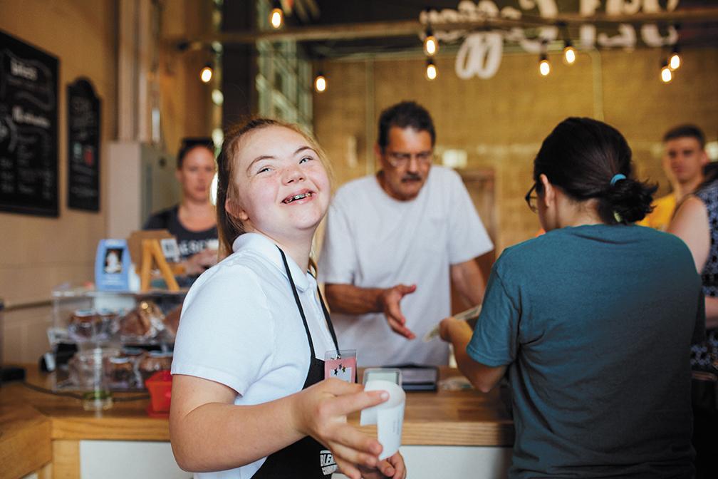321 coffee employee dreyahna grunow
