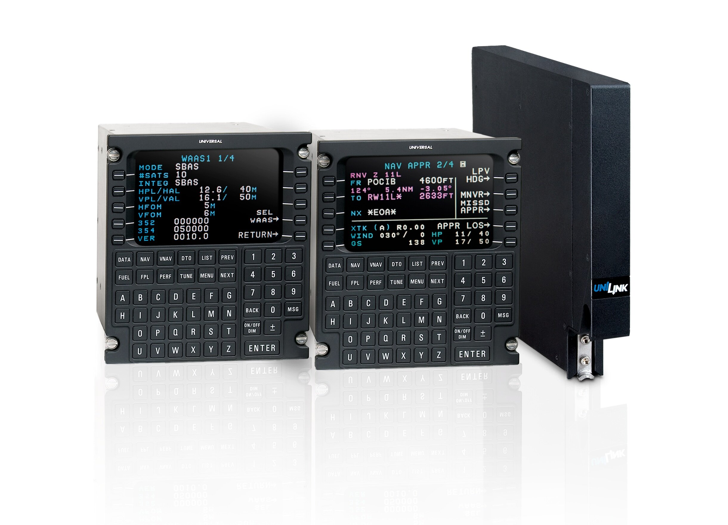 Dual Universal UNS-1Espw FMS's with UniLink