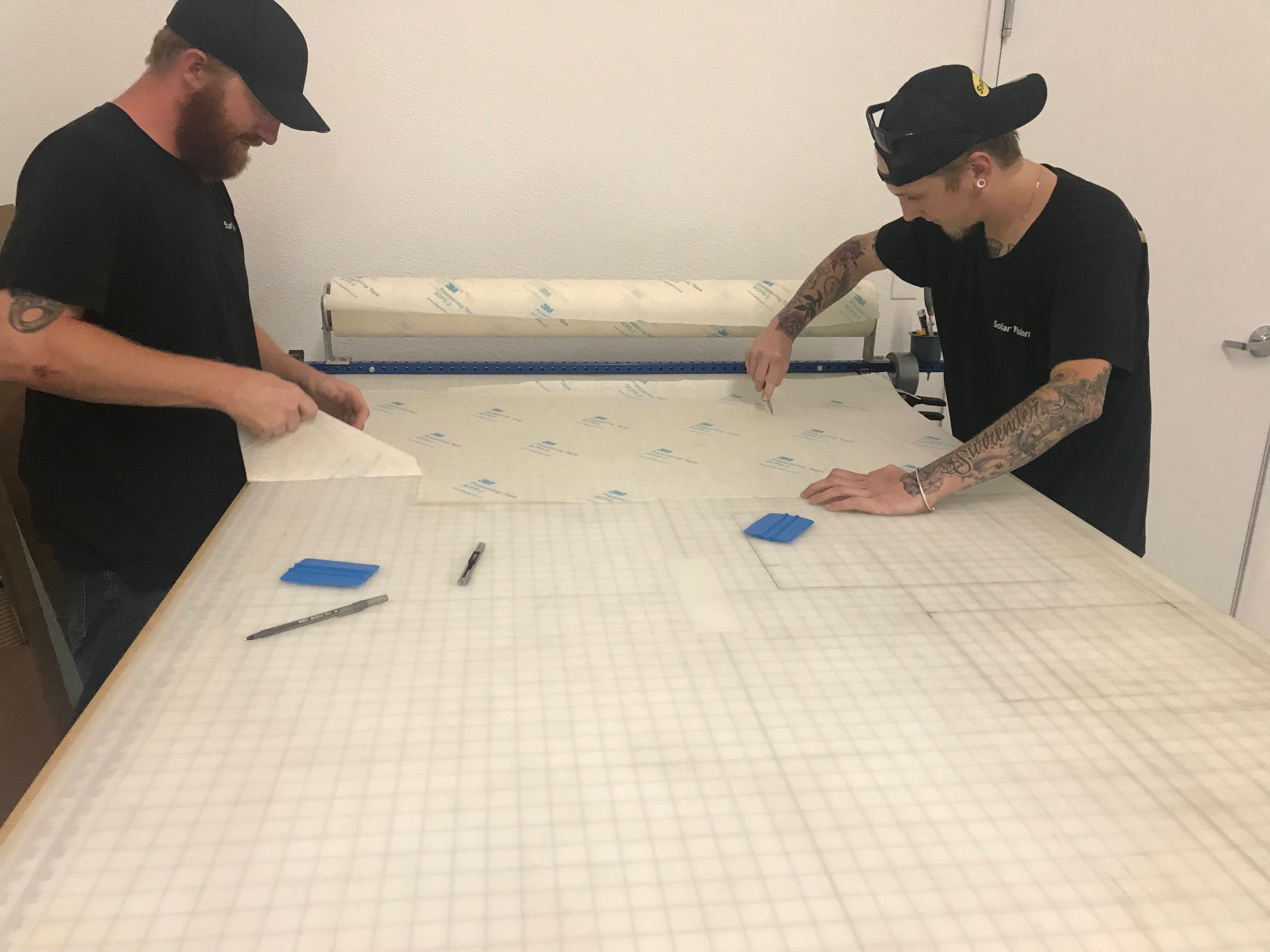 Our Graphic Artist and Install team can produce what you need in house. Making the turn around on your graphics installation quick, and efficient.