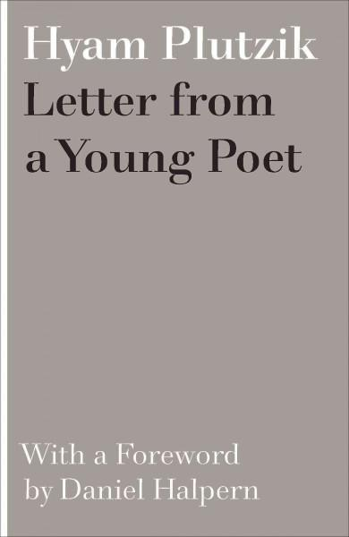 A Letter from a Young Poet (2016)