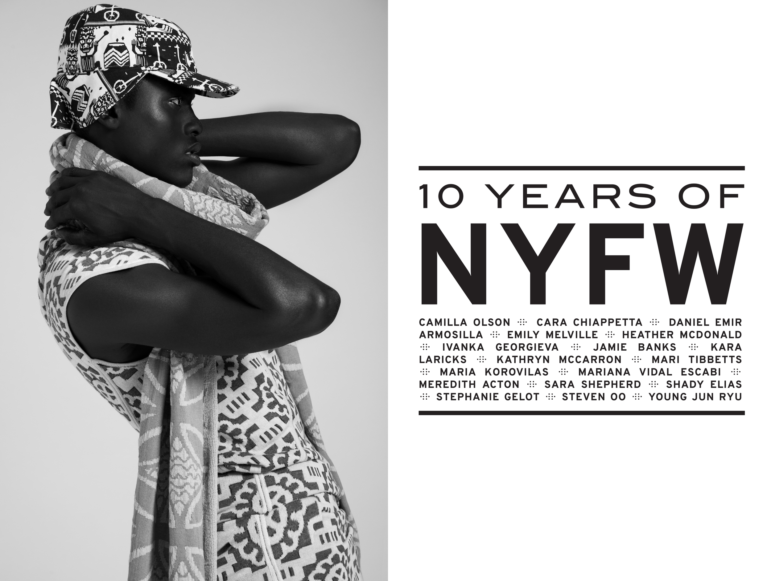 Jacquard Knit Tunic and Skirt by Stephanie Gelot, MFA Knitwear Design, 2011.
