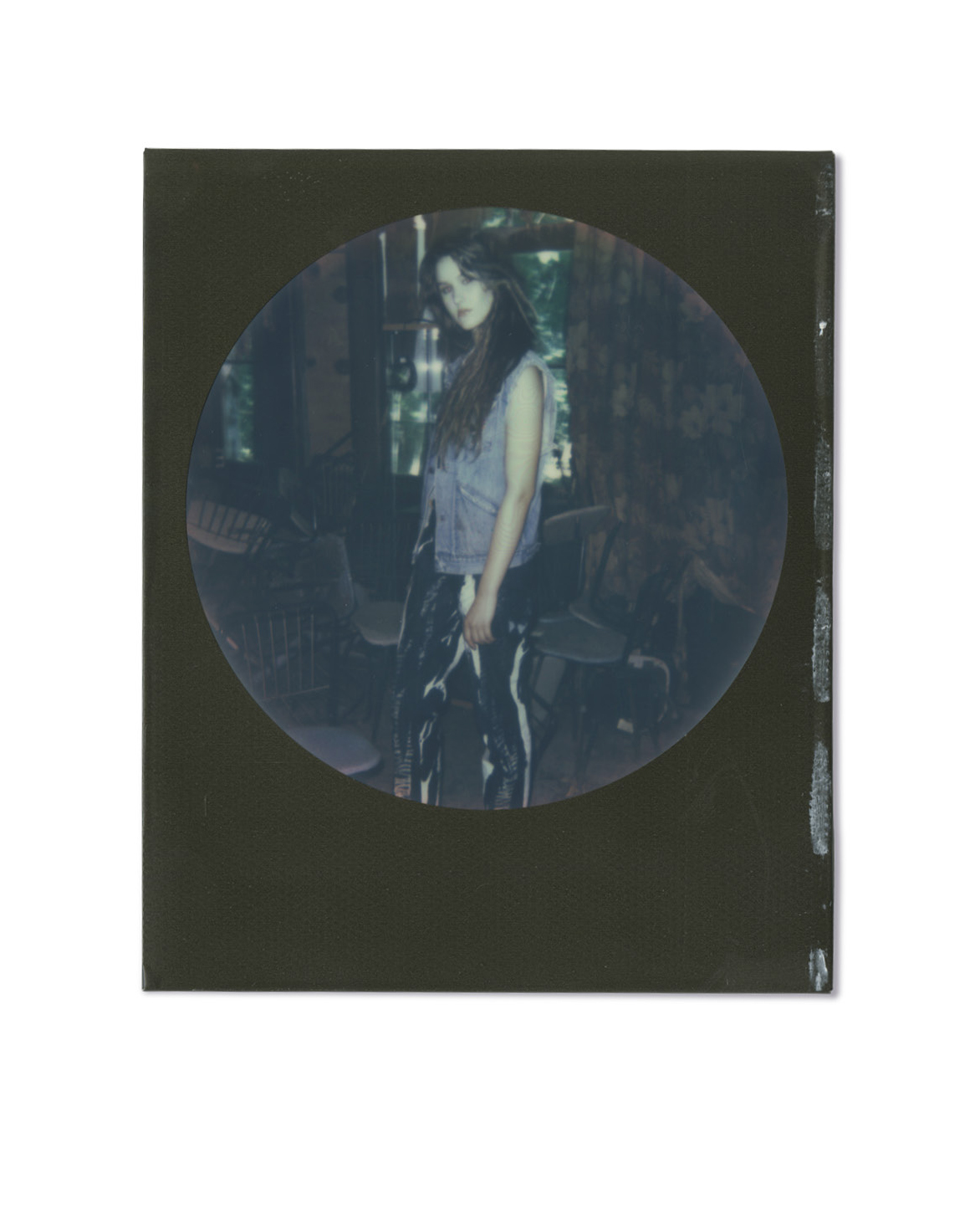 Vest, Afterlife Vintage. Jeans by Xiaowei Liu, MFA Fashion Design.