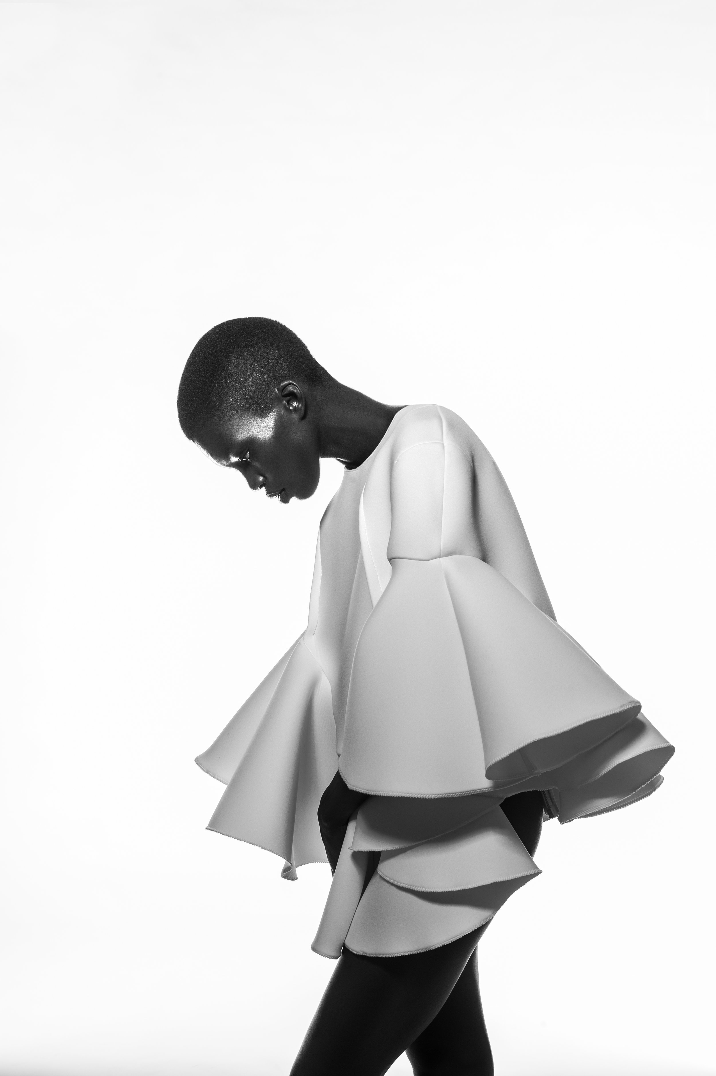 Top by Nika Tang, MFA Fashion Design.