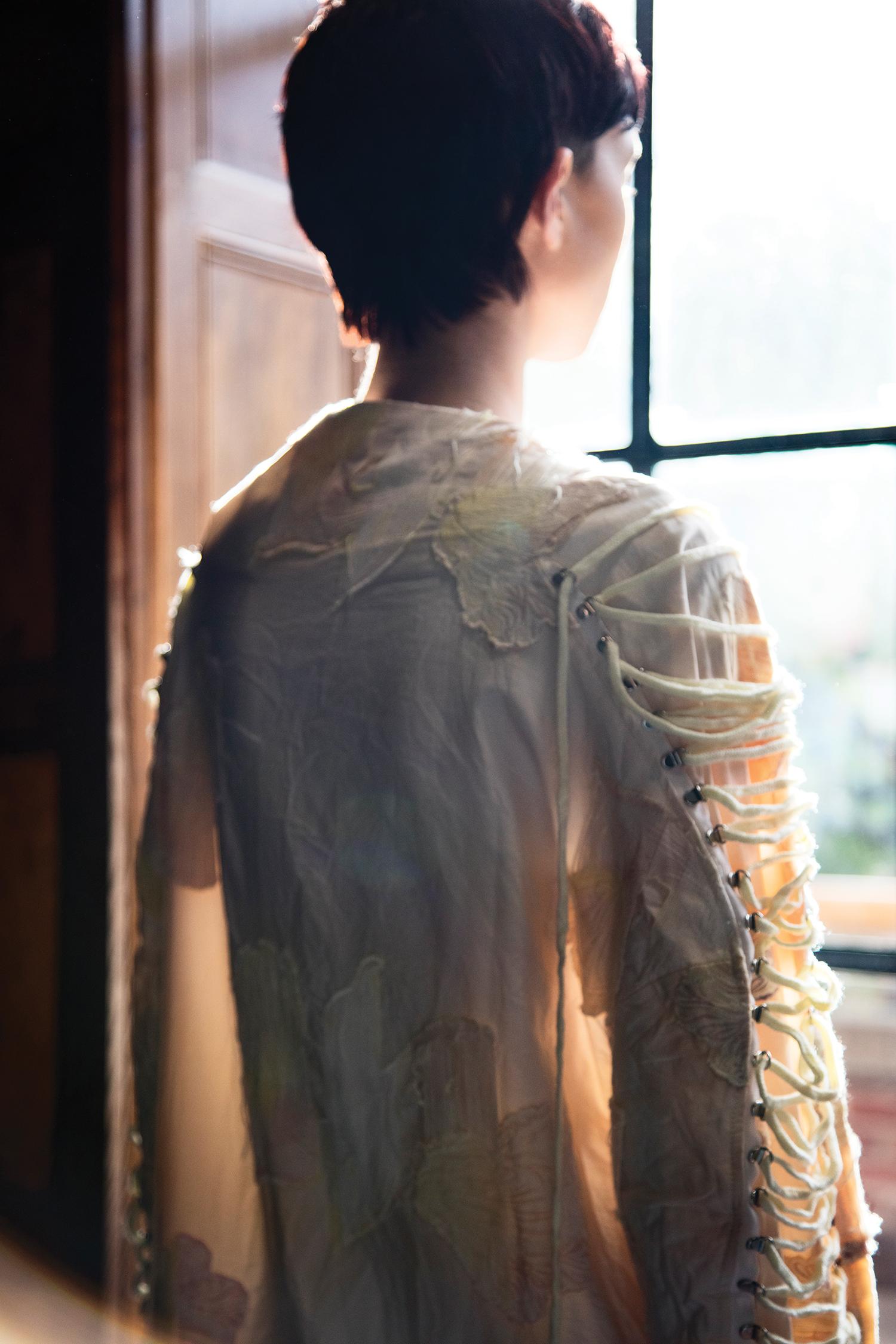 Jumpsuit by Brandon Kee, BFA Menswear Design.