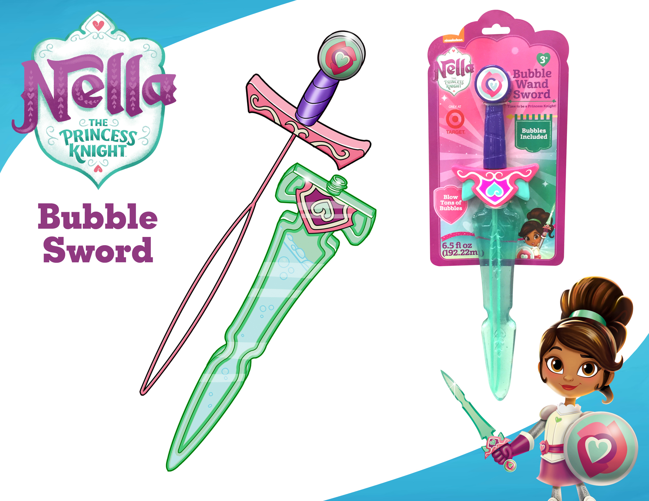 Nella the Knight Water Bubble Sword board.jpg