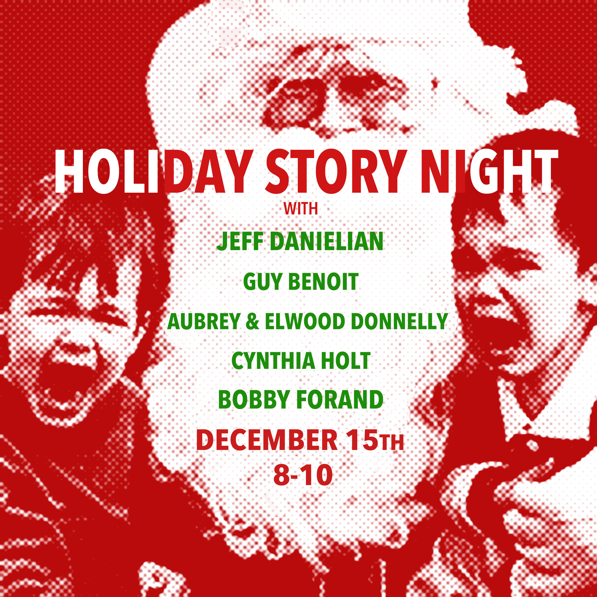 Holiday Story Night - at The Collaborative!