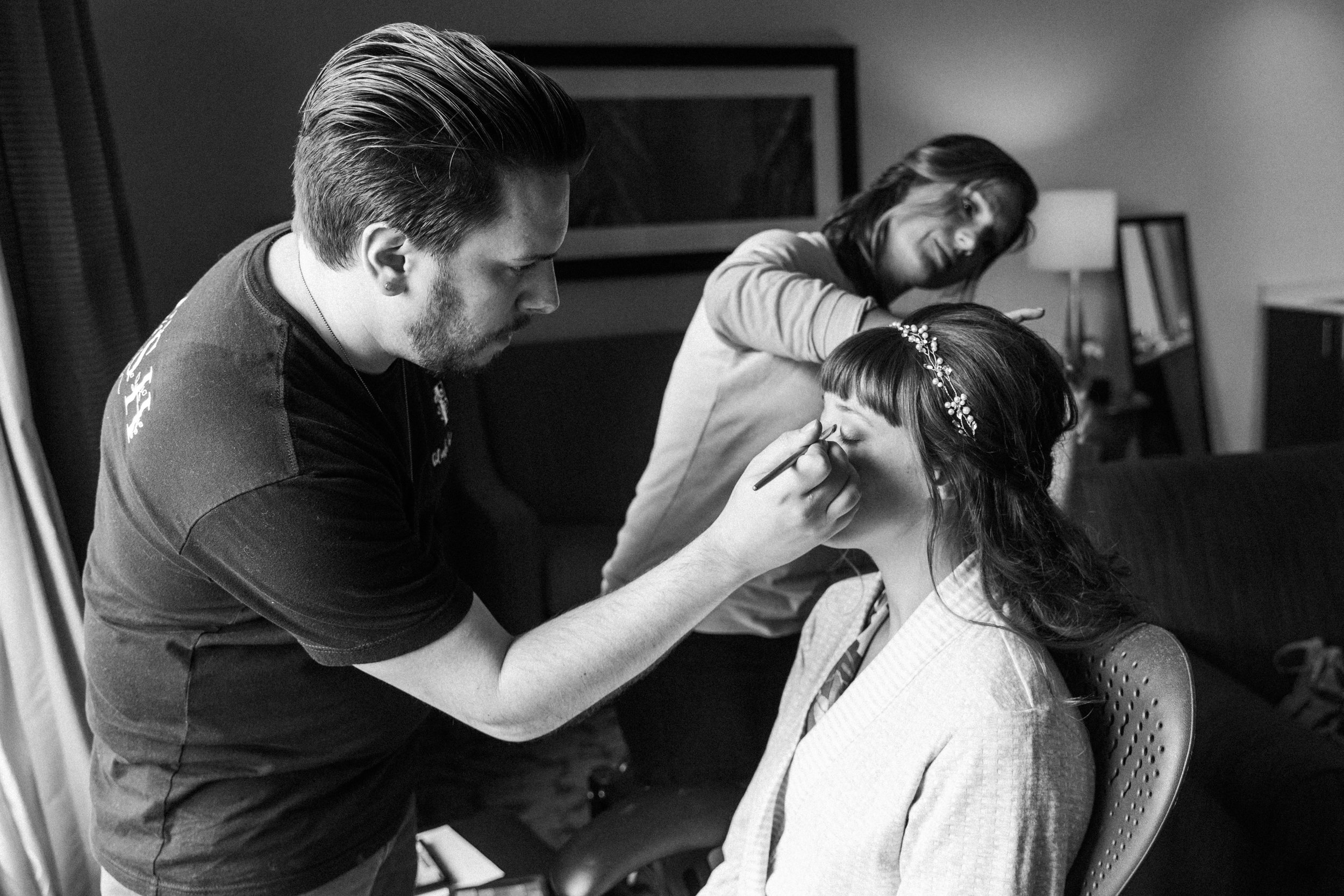 Mallory and Aaron - Married - Sneaks - Lauren Alisse Photography-7.jpg