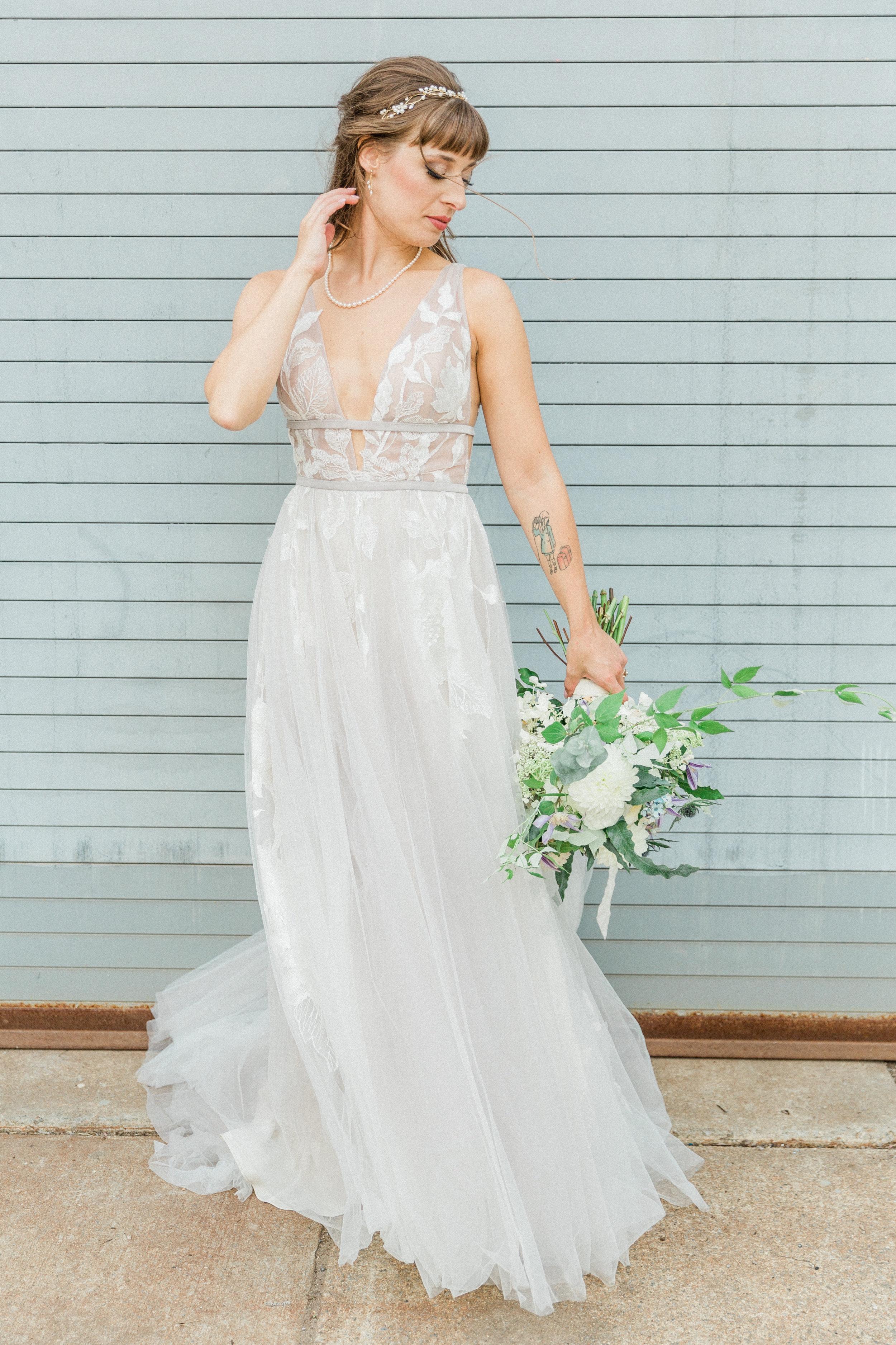Mallory and Aaron - Married - Sneaks - Lauren Alisse Photography-55.jpg