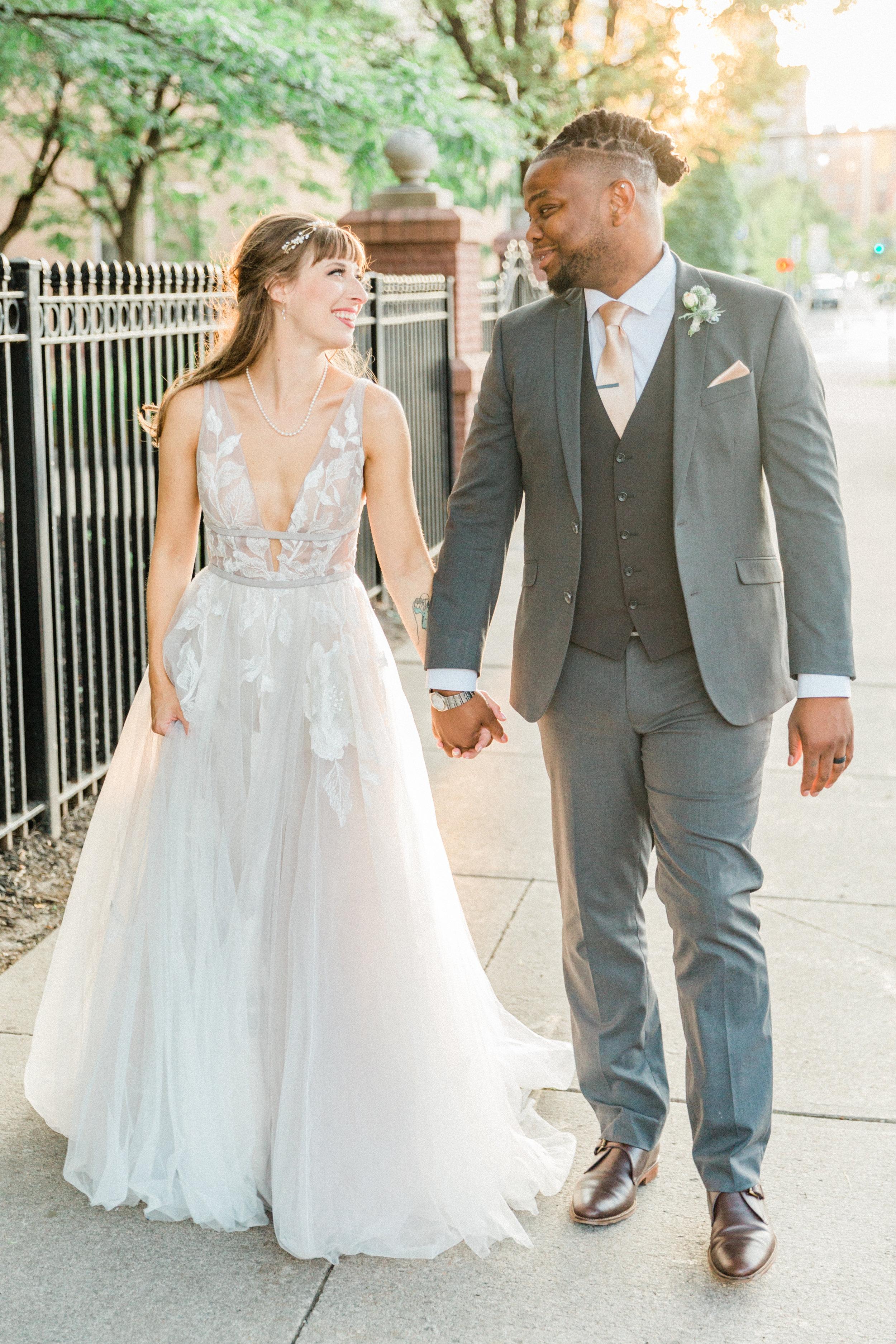 Mallory and Aaron - Married - Sneaks - Lauren Alisse Photography-77.jpg