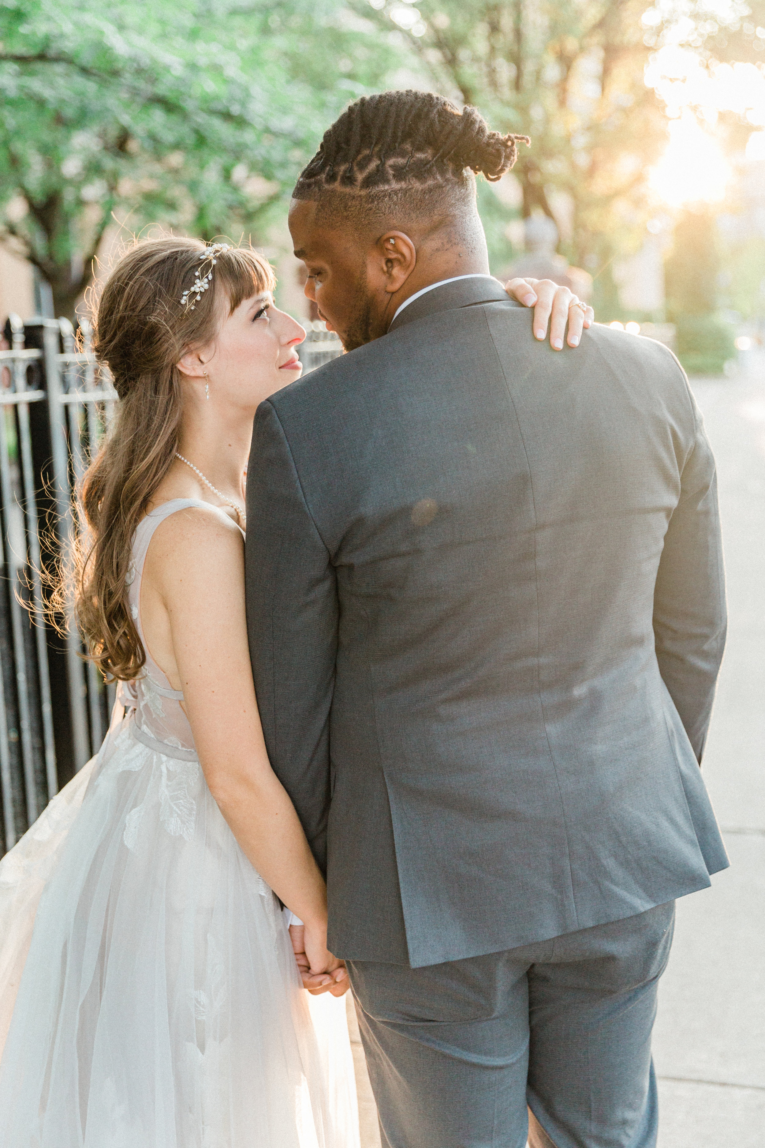 Mallory and Aaron - Married - Sneaks - Lauren Alisse Photography-76.jpg