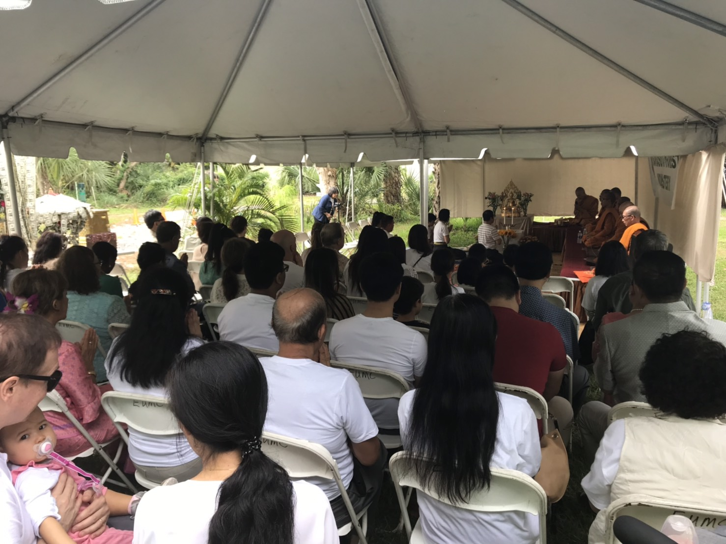 About 200 devotees attended our first Kathina in 2018.