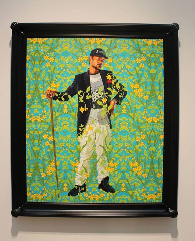 Representation matters! Paintings by Kehinde Wiley @stlartmuseum!