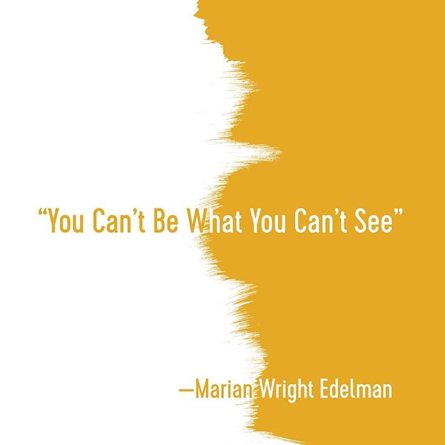 Such an unsettling but on point quote. So very thankful for those that broke the barriers that allowed us to follow our dreams and helped us see a way. #marianwrightedelman #homecoming #representationmatters