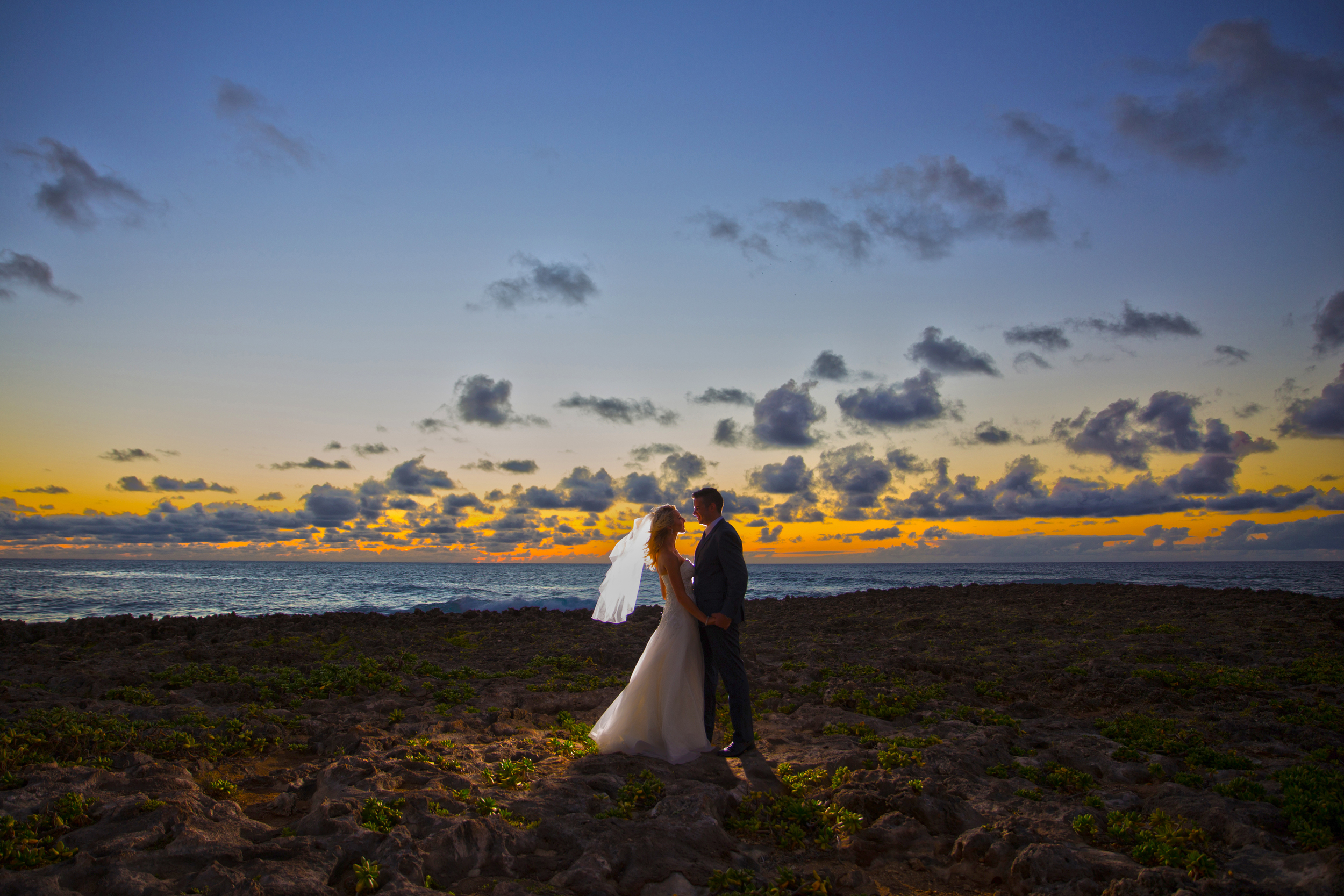 """""""Aloha  Bianca Photography ! We just wanted to say a huge thank you for all your help yesterday. You and Keiko were an absolute pleasure to deal with and made Nick and myself feel very comfortable. All our family commented afterwards on how professional and kind you both were. We appreciate the time you took to help us capture the perfect photos and we cannot wait to see them! Thank you so much again. We will never forget our day thanks to you! Mahalo! Georgia and Nick de Vos""""    """"Hi Bianca, Ummmm  WOW !!!!!! We just got the photos and are  BLOWN AWAY ! You and Keiko did such an amazing job, we are over the moon with the photos and are so excited to share these with our family and friends. Thank you for capturing our special day. Seeing these photos makes us miss Hawaii so much!! Thank you, thank you, thank you!!! Lots of love Georgia & Nick de Vos""""   Location:  Turtle Bay Resort"""
