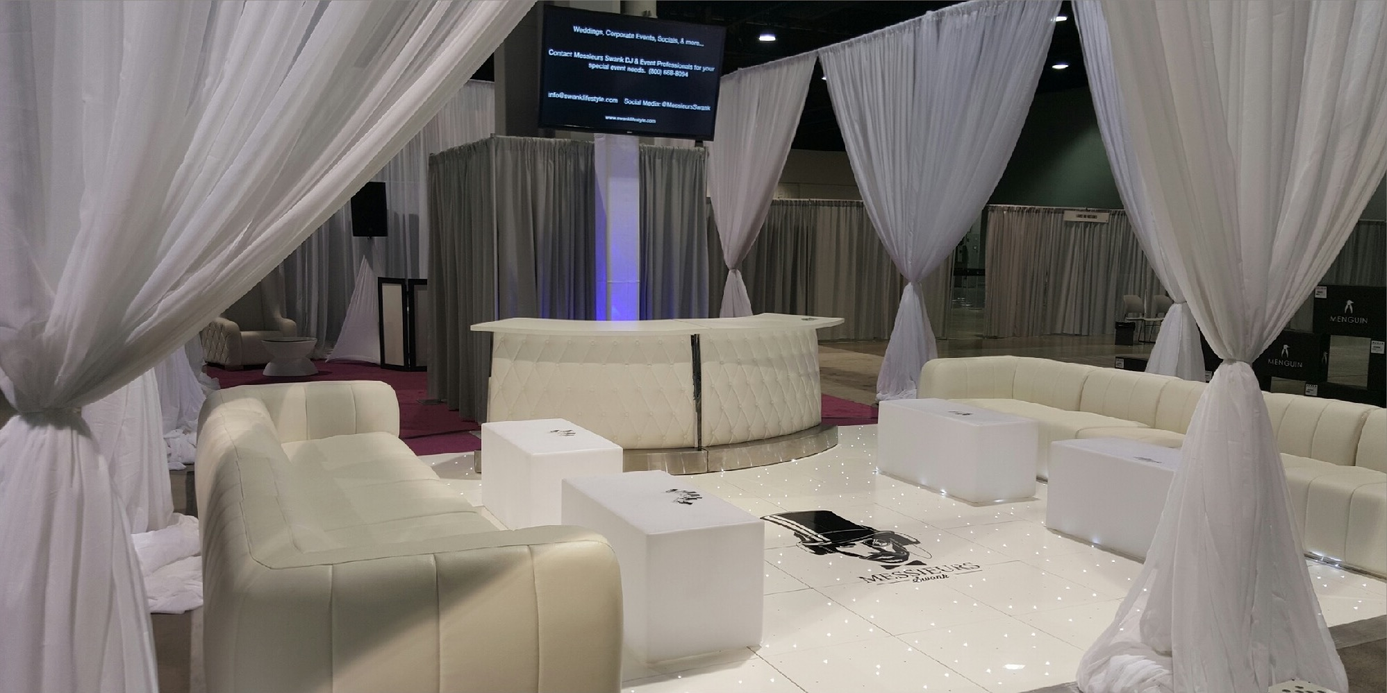 Bring us your ideas and let us help you execute them. Whether your plans call for celebrating company milestones, music, sports, and lifestyle themed events, or any of life's special occasion, Messieurs Swank can deliver bespoke services to help make your event a success. Contact us for details. -