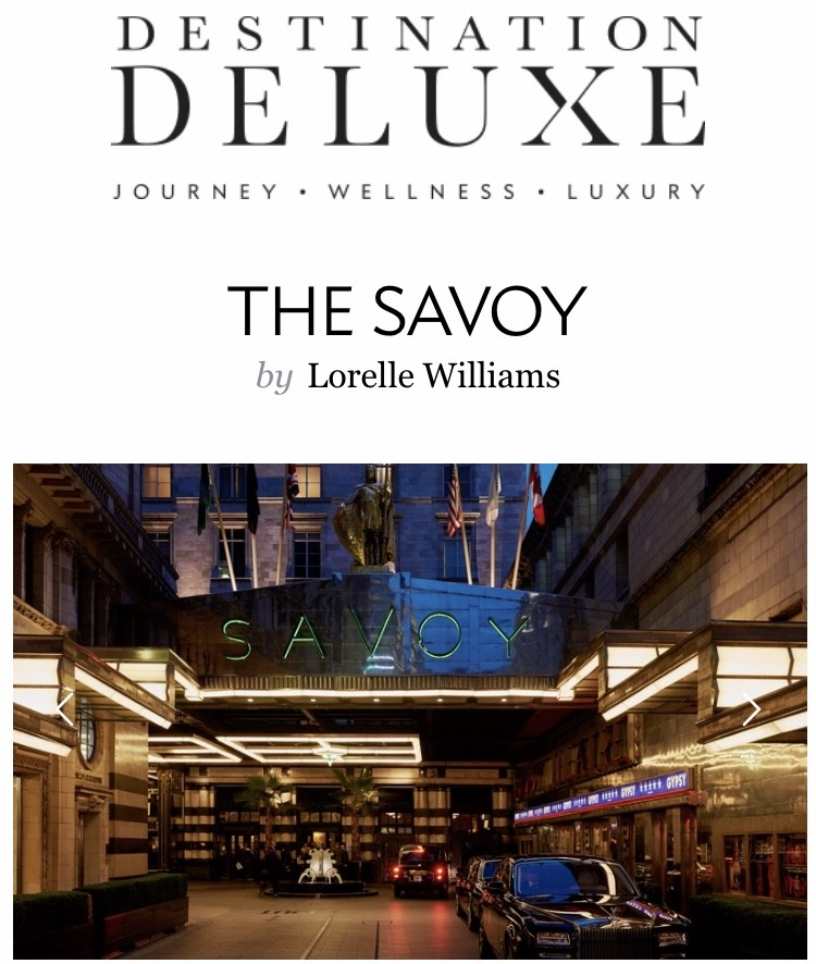 The Spa at The Savoy, London