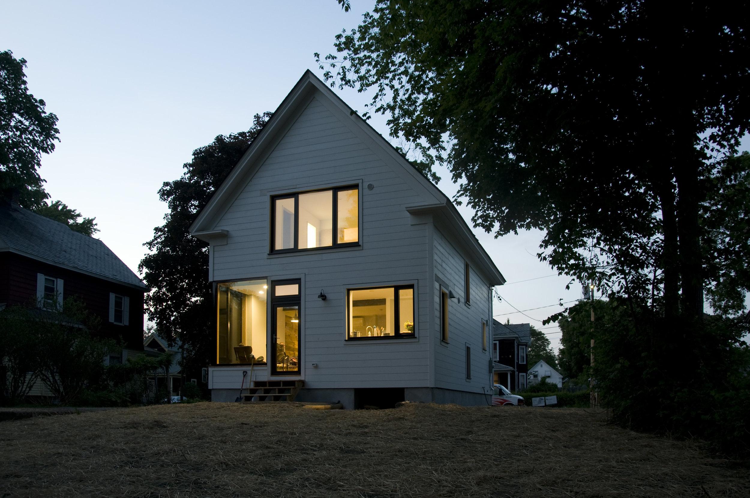 Greenfield High Performance Home - Robert Swinburne Architect - Vermont Natural Homes