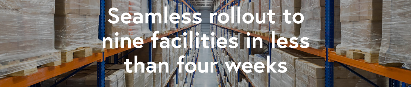 A leading foodservice distributor deployed the Spoiler Alert platform at nine facilities across five states, standardizing its processes for managing unsold inventory and reducing the volume of food sent to landfill in less than a month.