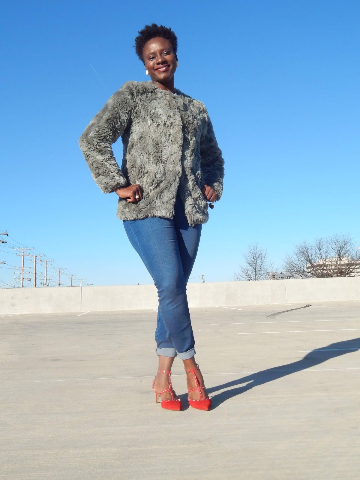 2. FAUX FUR EVERYTHING (Old Navy)