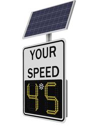 Solar Radar Sign