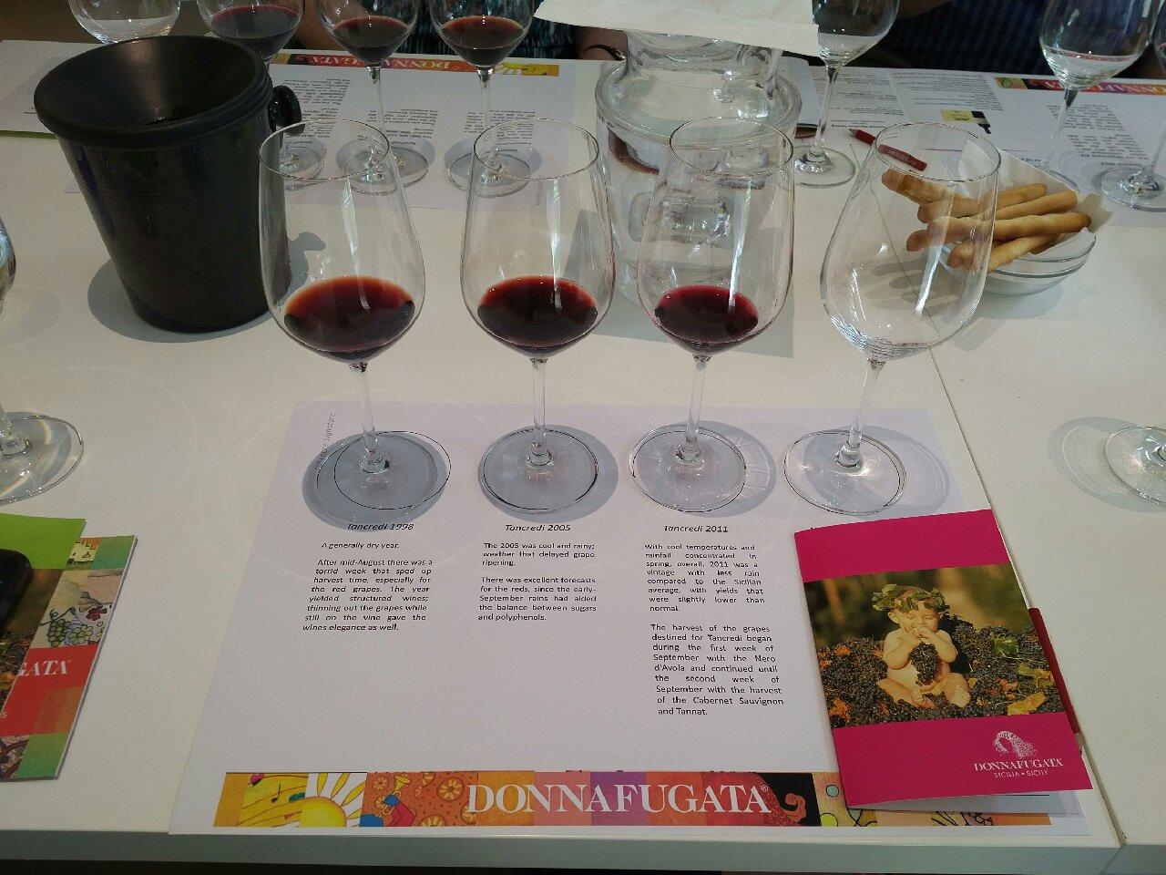 The wine Tancredi, Donnafugata, Marsala, Sicily