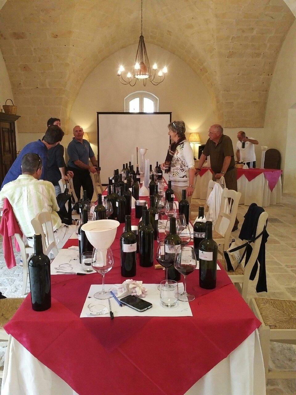 wine blending activity