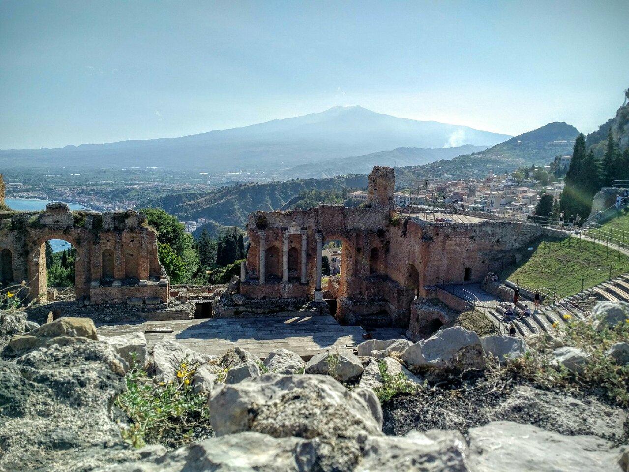 Taormina Greek Temple