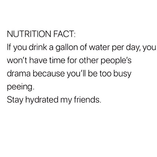 My #1 secret for staying HEALTHY & SANE. #drinkwateravoiddrama