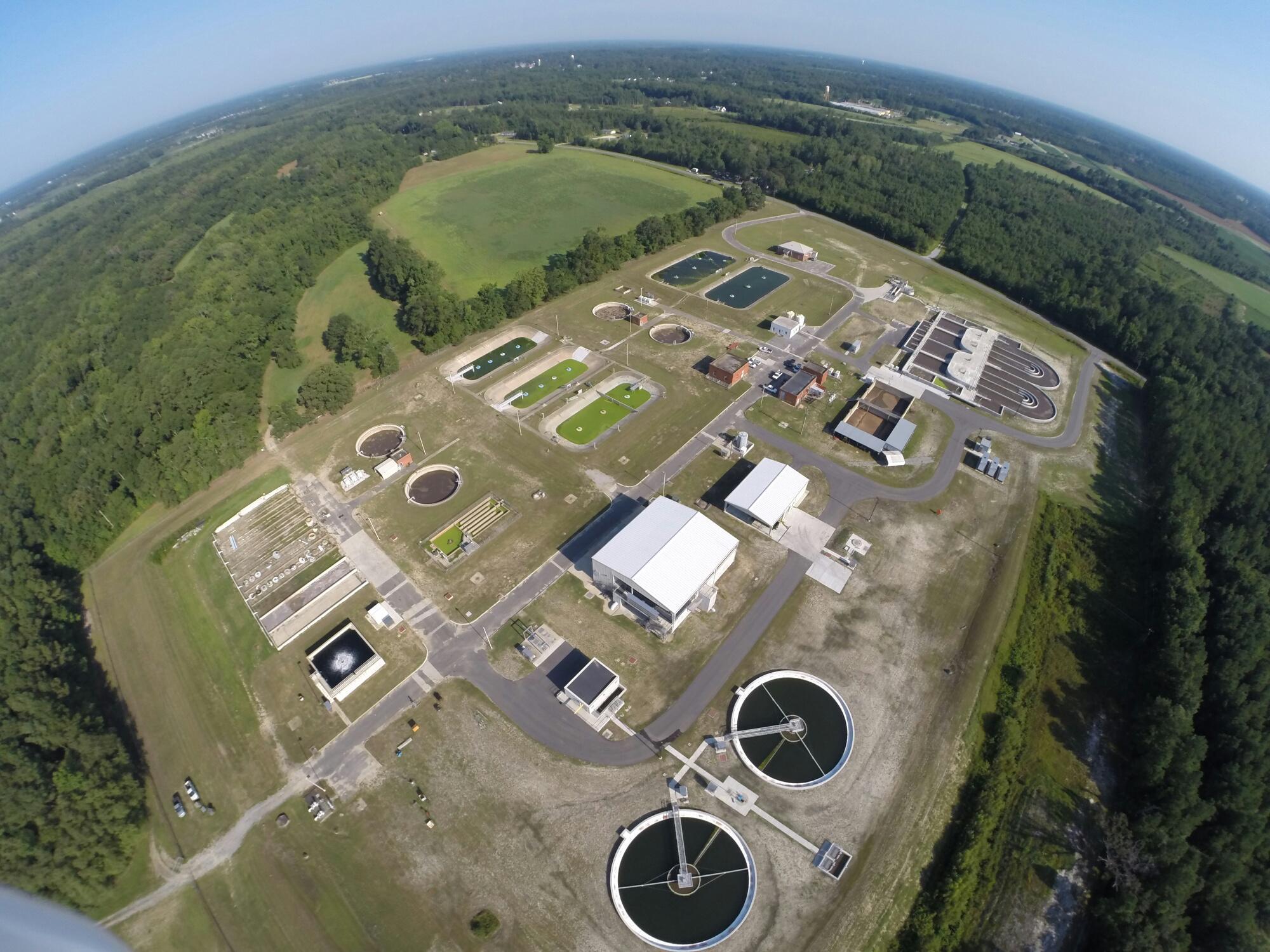 Contentnea MSD's Wastewater Plant